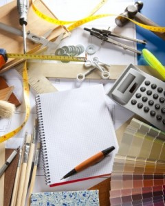 types of entry level jobs for interior design college